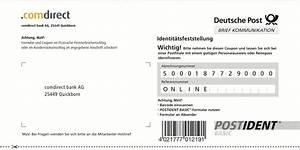 Kreditkarte Ohne Postident : postident coupon konto mit kreditkarte ~ Lizthompson.info Haus und Dekorationen
