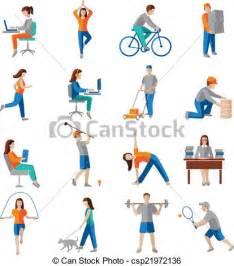 Physical Activities Clip Art