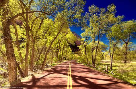 bureau paysage tlcharger fond d 39 ecran parc national de zion utah route