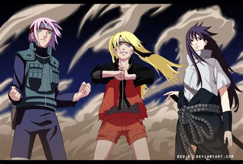 Genderbender By Ruu-k.deviantart.com On