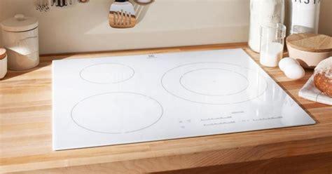 lapeyre evier cuisine plaque de cuisson vitrocéramique blanche