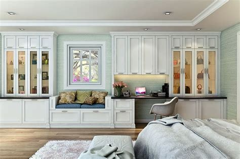 built in wall unit with desk and tv custom shaker style bedroom wall unit features a built in
