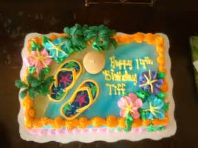 Luau Birthday Cakes at Walmart