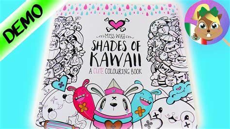 shades  kawaii libro  colorear al estilo kawaii