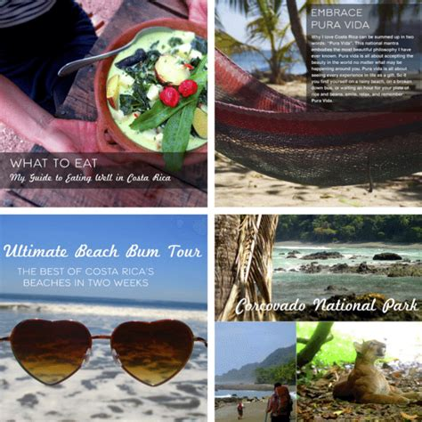 the ultimate travel guide to costa rica ebook