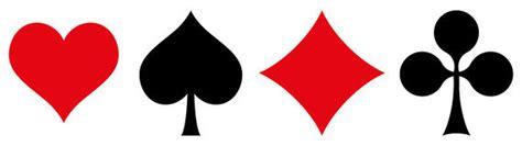 playing cards symbols royalty  stock photo image