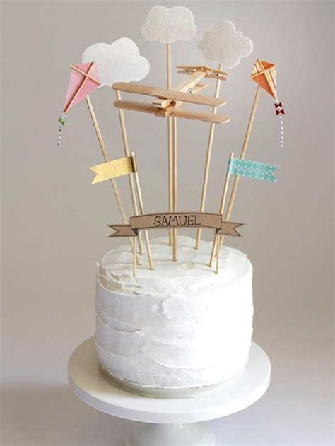 diy cake toppers to make your cake prettier diy cake