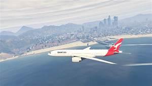Qantas Boeing 777-200 - GTA5-Mods.com