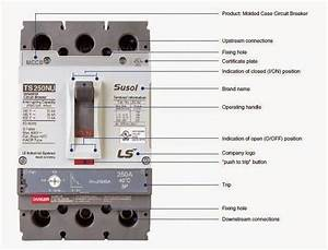 Electrical Engineering World  Molded Case Circuit Breaker  Mccb  Construction