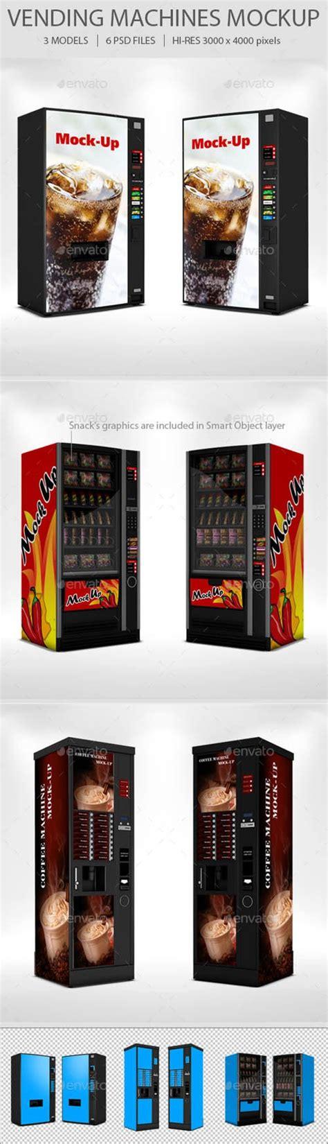 bebida ephotoshop template can soda gr vending machine mockup set 19037242 stuff to buyd
