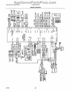 Parts For Frigidaire Lfhb2741pfaa  Wiring Diagram Parts