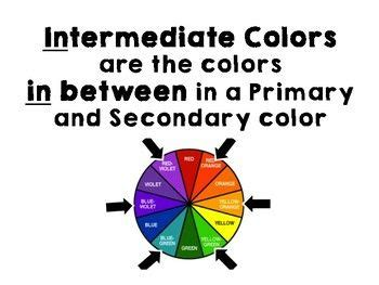 what are the intermediate colors best 25 intermediate colors ideas on choses