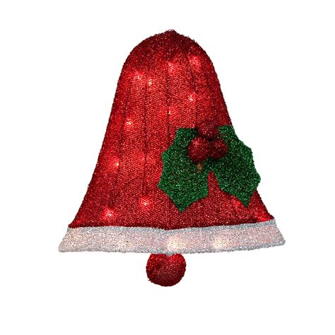 lighted christmas bells windows tinsel icon lighted bell christmas decoration classics at