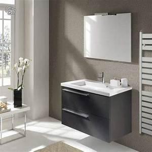 Leroy merlin meuble salle de bain 1 meuble lavabo salle for Meuble salle de bain orca