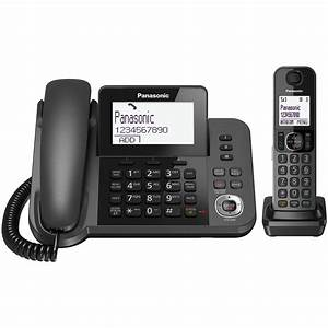 Panasonic Kx-tgf324 Corded  U0026 Cordless Phone