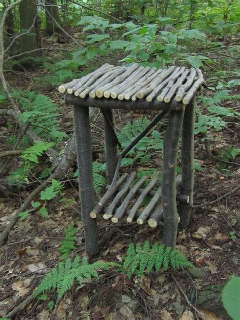 stick table      garden twig furniture