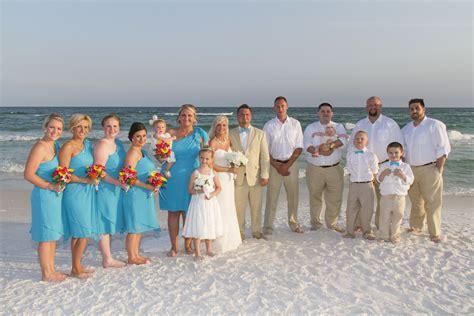 destin wedding destin florida barefoot wedding barefoot weddings
