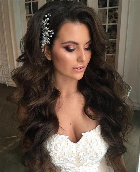 wedding hairstyles  long hair   inspire