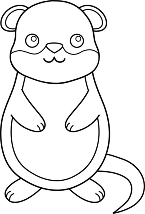 gopher clipart black and white groundhog pictures cliparts co