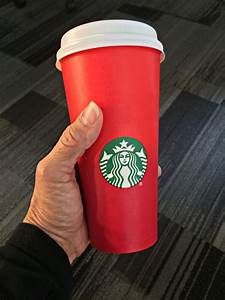 War on Christmas? Starbucks customers complain about red ...