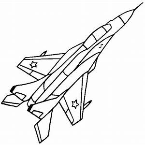 Free coloring pages of plane outline