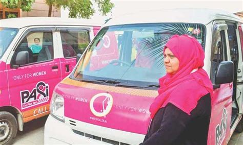 Karachi's Women Only Taxi Becomes Popular