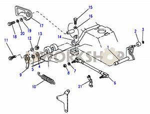 Throttle Linkage-stromberg - V8 3 5l Carburetter