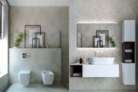 Modern Minimalist Style Bathrooms