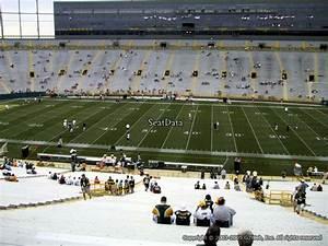 Lambeau Field Seating Chart With Rows 400 Level Sideline Outdoor Club Lambeau Field Football