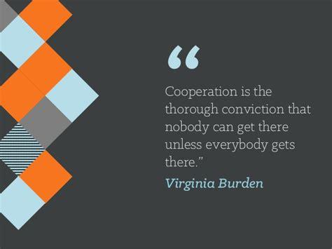 cooperation    conviction