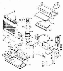Comfort Glow Sr14 Space Heater Parts