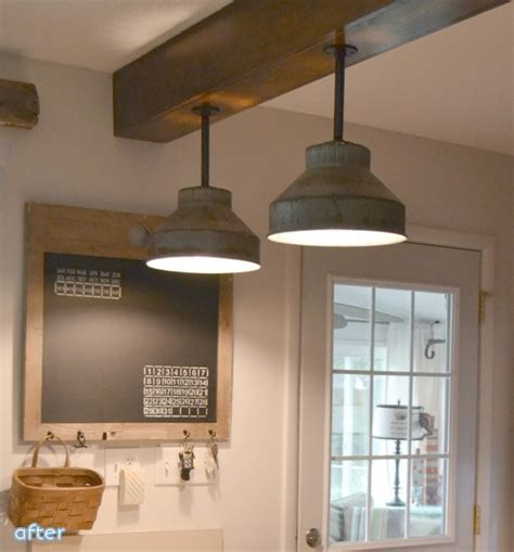 diy kitchen light fixtures diy galvanized colanders ceiling light tutorial id lights 6852