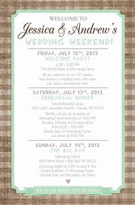 country chic wedding weekend itinerary by paper lace With destination wedding welcome letter and itinerary