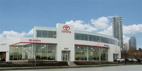 Toyota Dealership Chicago by Destination Toyota In Burnaby Celebrates Grand Opening Of