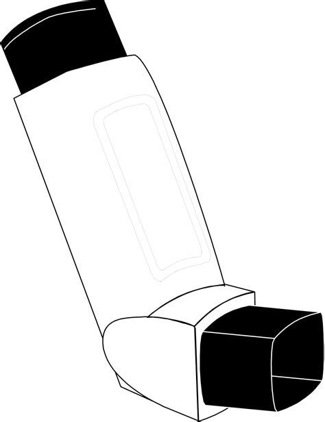 Inhaler clipart - Clipground