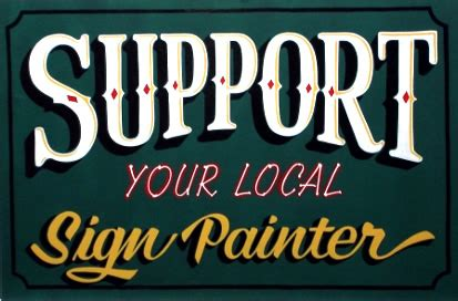 about sign painting