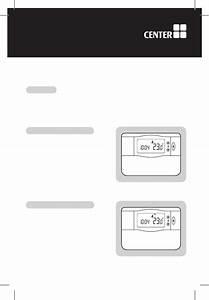 Center Ehe0200153 Thermostat Operation  U0026 User U2019s Manual Pdf