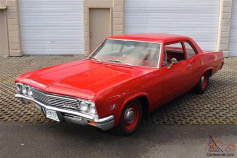 1966 Chevrolet Biscayne Copo L72 4274speed M22 Tribute