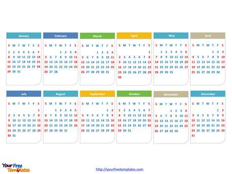 powerpoint calendar template 2017 free calendar 2017 powerpoint template free powerpoint templates