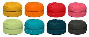Store your stuff in a bean bag Or is it a macaron bag