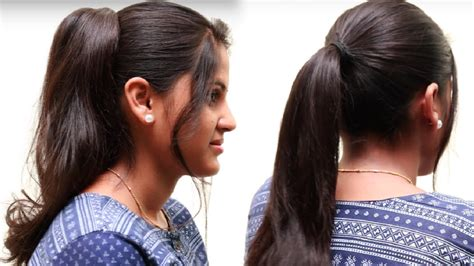 Ponytail Hairstyles For by Ponytail Hairstyles For Hair Easy Hairstyles