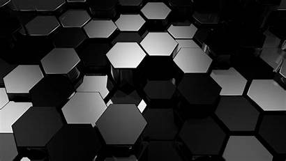 Hexagon Abstract Pattern Digital Background Wallpapers Wall