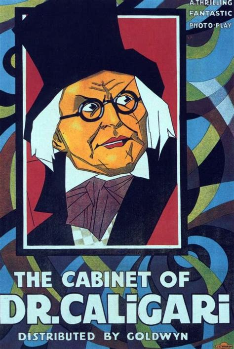 Cabinet Of Doctor Caligari Poster by The Cabinet Of Dr Calilgari The Posters