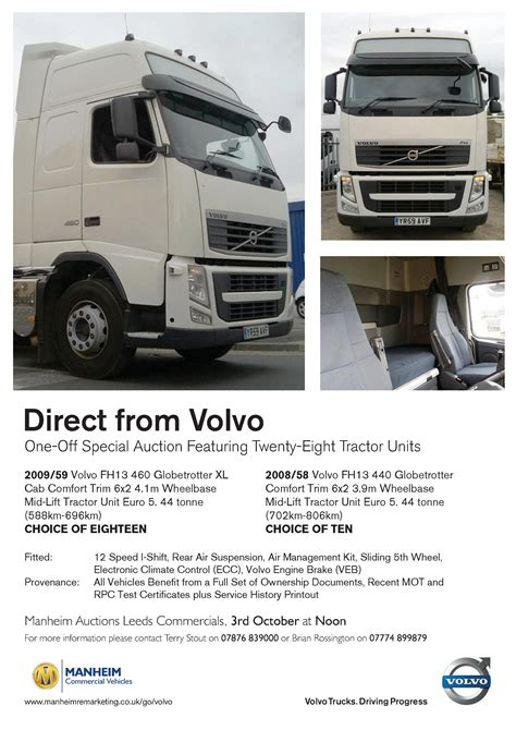 volvo truck ad volvo trucks first branded auction a success commercial