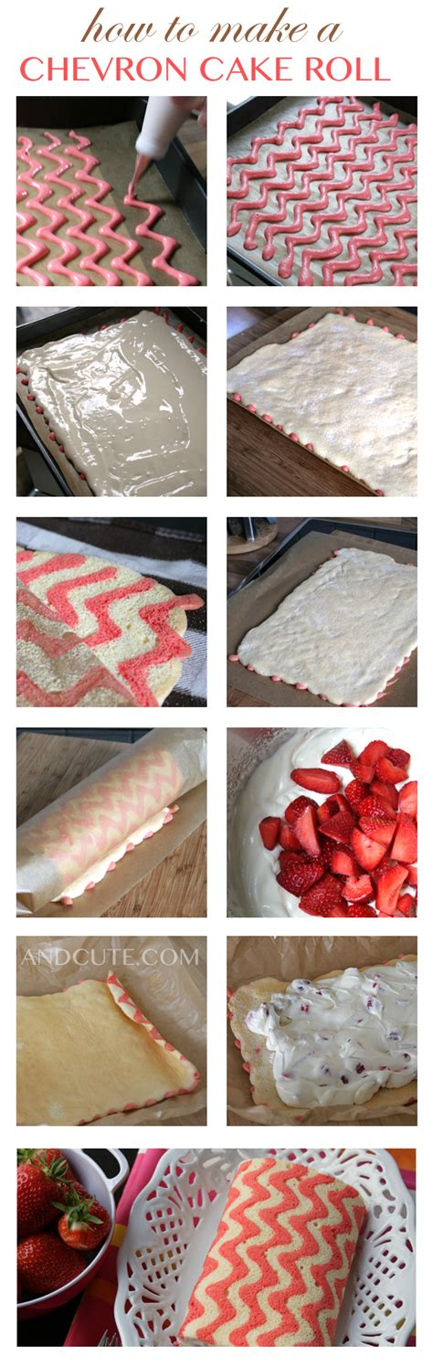 how to make a cake roll how to make a chevron zig zag cake roll