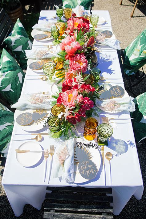 Aloha Themed Bridal Shower  Tropical Bridal Shower 100