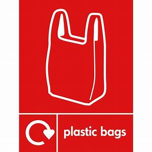 Plastic Bags Recycling Signs - from Key Signs UK