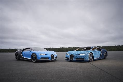 With lego technic you can build for real, the danish toy company announced. LEGO Unveils Full-Size, Driveable Bugatti Chiron - autoevolution