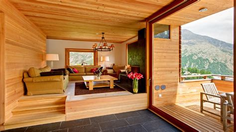 Chalet Designs by Enjoy A Luxury Swiss Ski In Top Designer Chalet