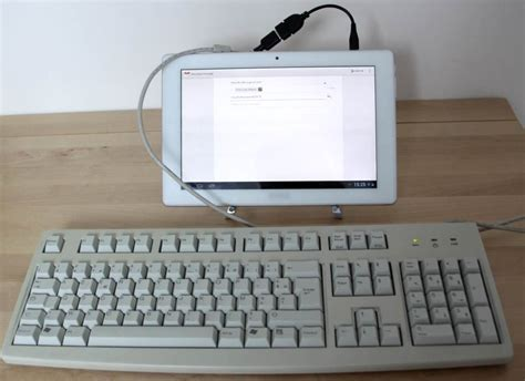 test des ports usb otg des tablettes compatibilit 233 claviers maj tablette android